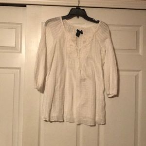 Women's Max Edition White Blouse Size Small
